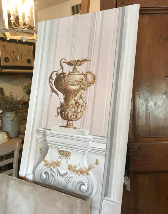 Campionature per Decorazioni pittoriche Murali